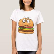 Hamburger Emoji T-Shirt