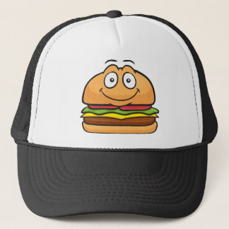 Hamburger Emoji Trucker Hat