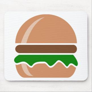 hamburger fast food a sandwich mouse pad
