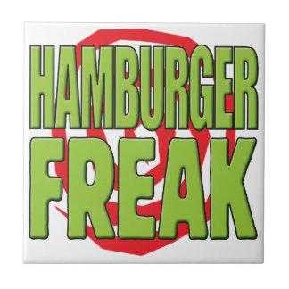 Hamburger Freak G Ceramic Tile