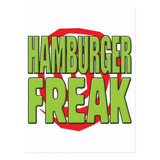 Hamburger Freak G Postcard