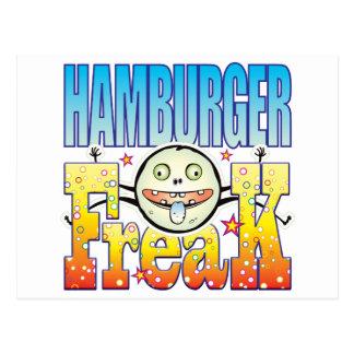 Hamburger Freaky Freak Postcard