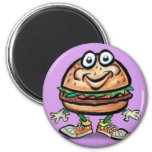 Hamburger Fridge Magnets