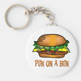 Hamburger Fun Keychain