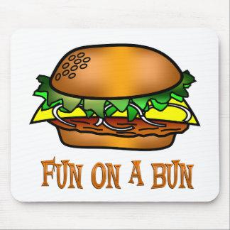 Hamburger Fun Mouse Pad