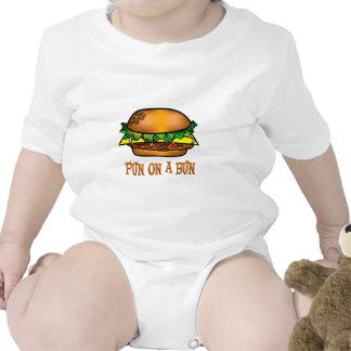 Hamburger Fun T Shirt