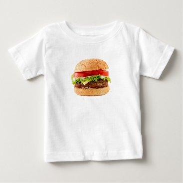 Halloween Themed Hamburger Funny Halloween costume matching couples Baby T-Shirt