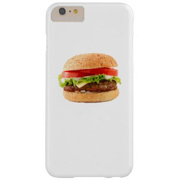 Halloween Themed Hamburger Funny Halloween costume matching couples Barely There iPhone 6 Plus Case