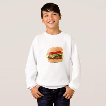 Halloween Themed Hamburger Funny Halloween costume matching couples Sweatshirt