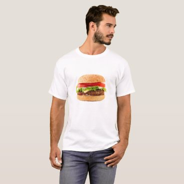 Halloween Themed Hamburger Funny Halloween costume matching couples T-Shirt