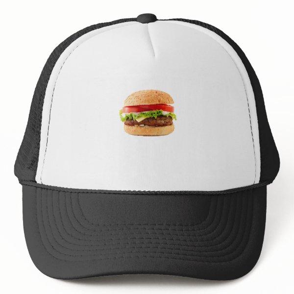 Hamburger Funny Halloween costume matching couples Trucker Hat