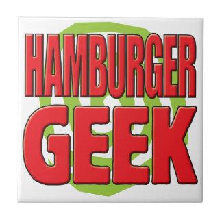 Hamburger Geek Tiles