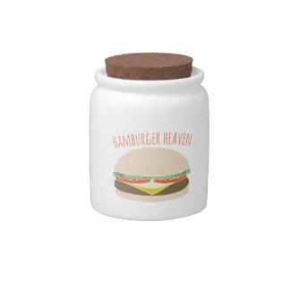Hamburger Heaven Candy Dish