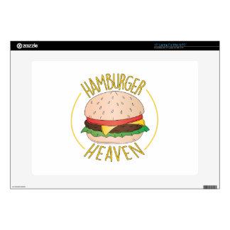 Hamburger Heaven Skin For Laptop