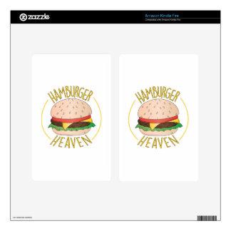 Hamburger Heaven Skins For Kindle Fire