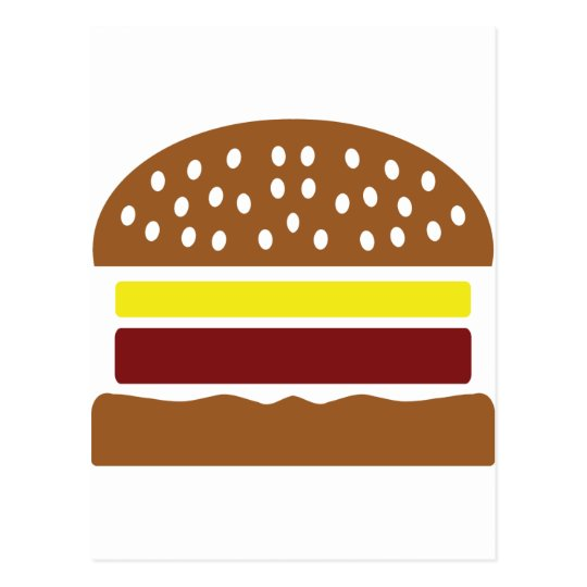 hamburger icon postcard