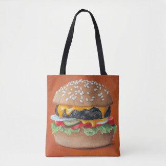 Hamburger Illustration bags