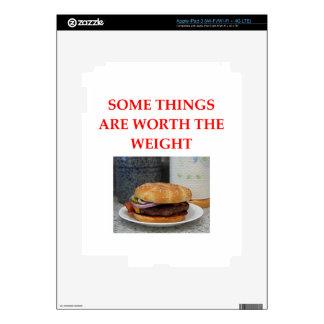 HAMBURGER iPad 3 SKIN