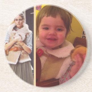 Hamburger Little Girls Coasters