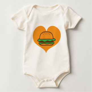 Hamburger lover bodysuits