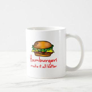 Hamburger Lover Coffee Mugs
