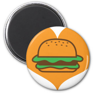 Hamburger lover magnet
