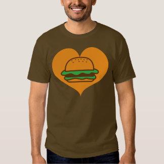 Hamburger lover shirt