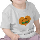 Hamburger lover tshirts