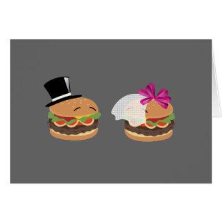 Hamburger Marriage -- ASL play on words Card