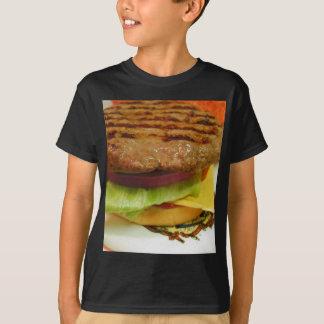 Hamburger Meat Patty Patties Lettuce Tomatoes Buns T-Shirt