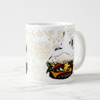 Hamburger Mountaineer Snowstorm - 1 Giant Coffee Mug