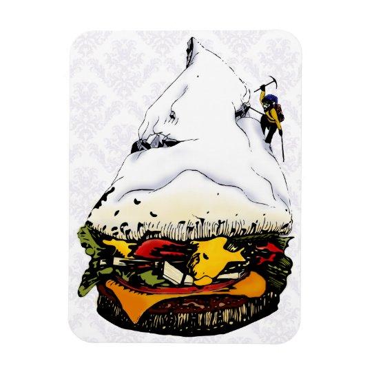 Hamburger Mountaineer Snowstorm - 2 Magnet