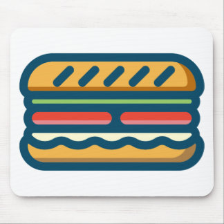 Hamburger Mouse Pad
