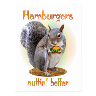 Hamburger Nut Postcard