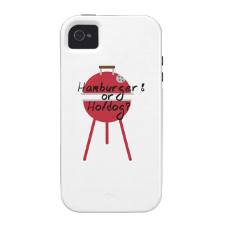 Hamburger Or Hotdogs? Vibe iPhone 4 Cases