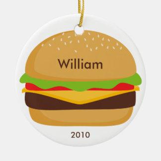 Hamburger Ornament