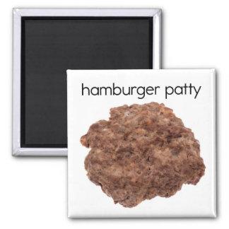 Hamburger Patty Refrigerator Magnet