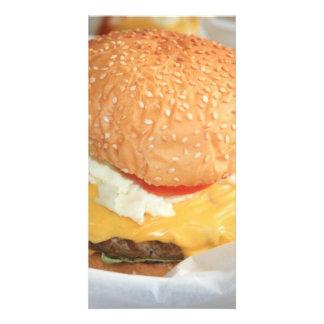 Hamburger Photo Card Template