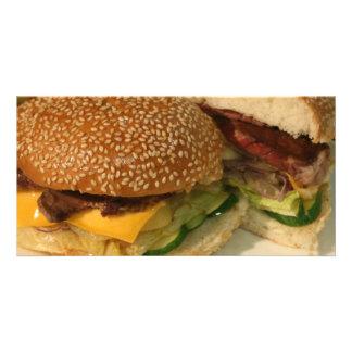 Hamburger Picture Card