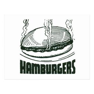 Hamburger Postcard
