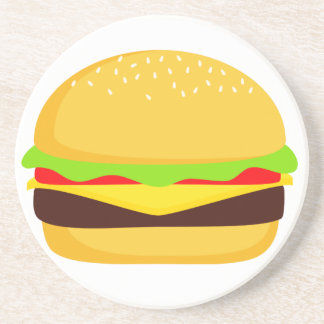 Hamburger Sandstone Coaster