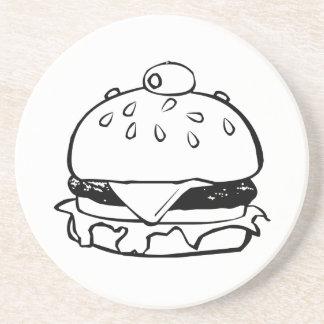 Hamburger Sandwich Beverage Coaster