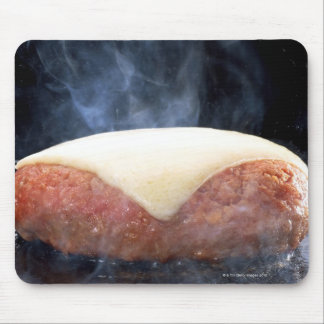 Hamburger Steak Mouse Pad