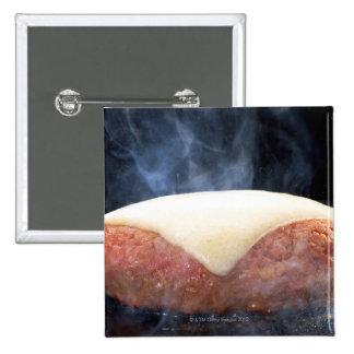 Hamburger Steak Pinback Button