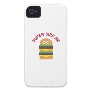 Hamburger_Super Size Me iPhone 4 Case-Mate Cases