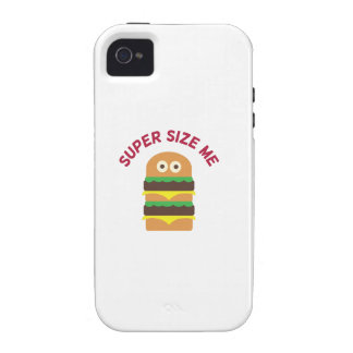 Hamburger_Super Size Me Case For The iPhone 4