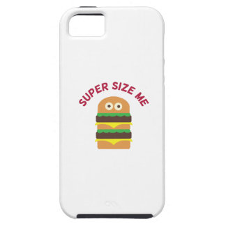 Hamburger_Super Size Me iPhone 5 Cover