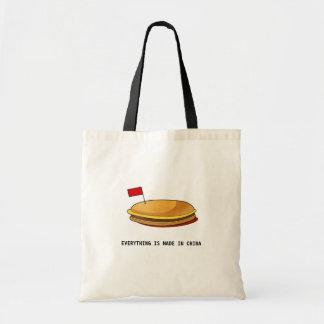 Hamburger Tote Bag