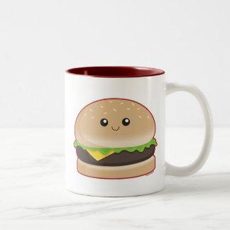 Hamburger Two-Tone Coffee Mug