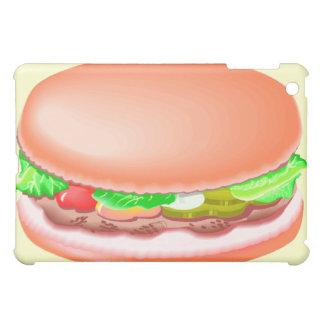 Hamburger with all the fixin's iPad mini cases